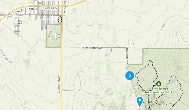 Calhan, Colorado Map