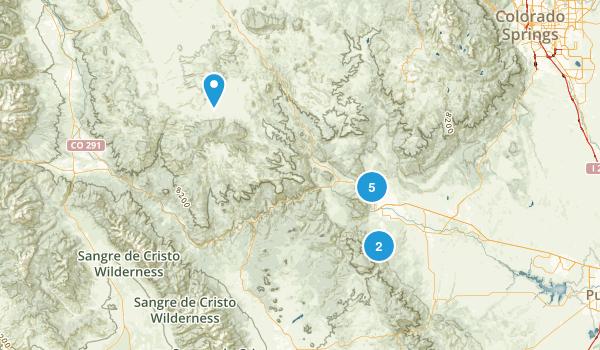 Best Trails Near Canon City Colorado Photos Reviews - Colorado on us map