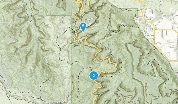 Colorado National Monument , Colorado Map