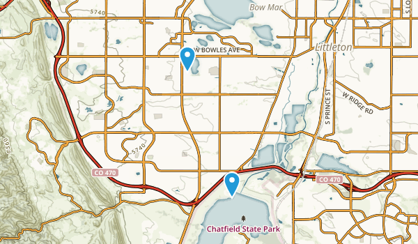 Columbine, Colorado Map