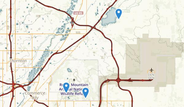 Commerce City, Colorado Map