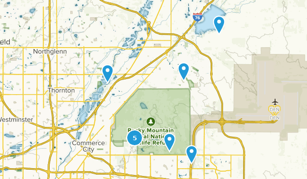 Commerce Colorado Map Best Trails near Commerce City, Colorado | AllTrails