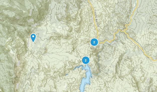 Deckers, Colorado Map