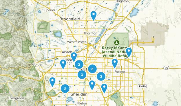 Denver, Colorado Map