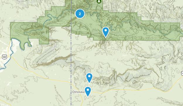 Dinosaur, Colorado Map