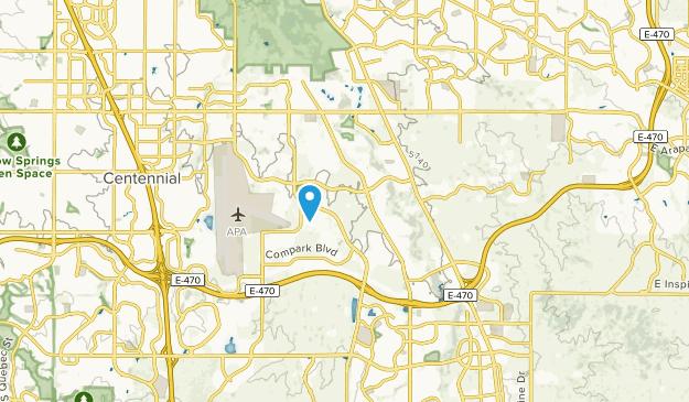 Dove Valley, Colorado Map
