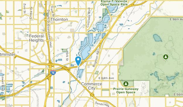 Dupont, Colorado Map