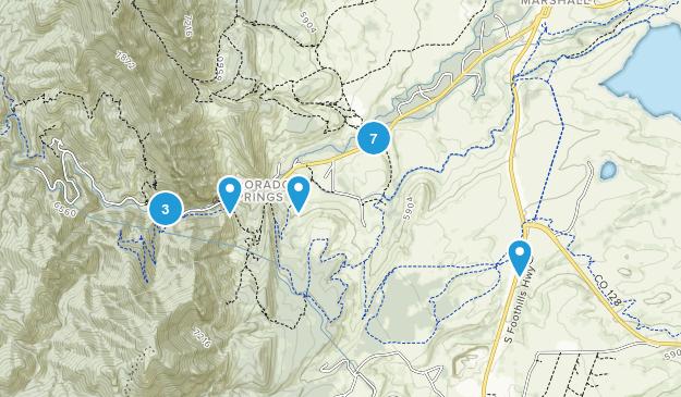 Eldorado Springs, Colorado Map