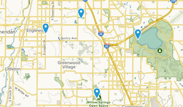 Englewood, Colorado Map
