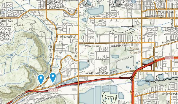 Fairmount, Colorado Map