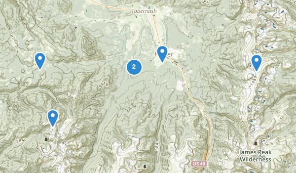 Fraser, Colorado Map