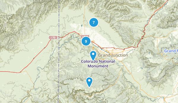 Fruita, Colorado Map