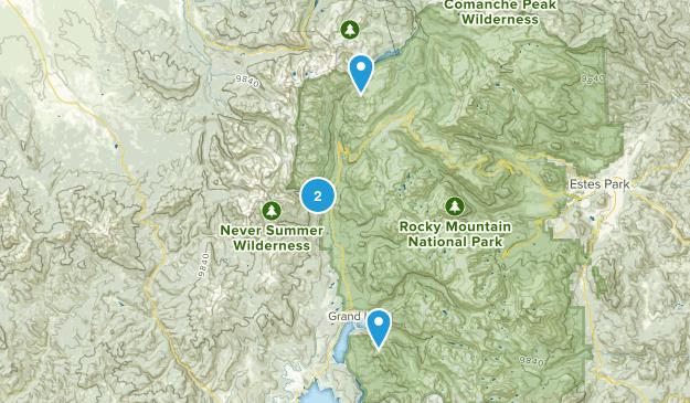 Gaskil, Colorado Map