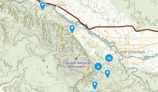 Grand Junction, Colorado Map