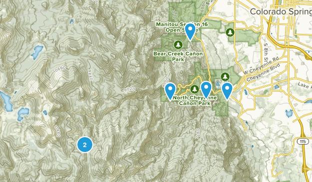 Green Settlement, Colorado Map
