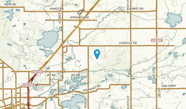 Gunbarrel, Colorado Map