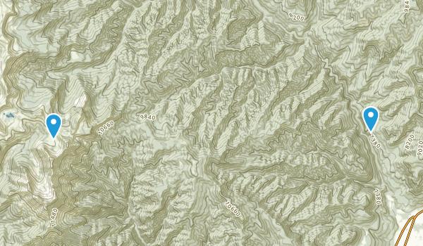 Hermosa, Colorado Map