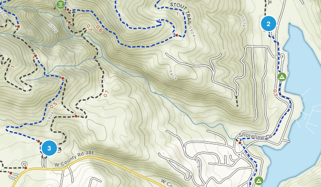 Horsetooth Heights, Colorado Map