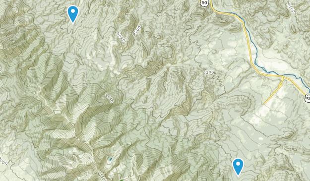 Howard, Colorado Map