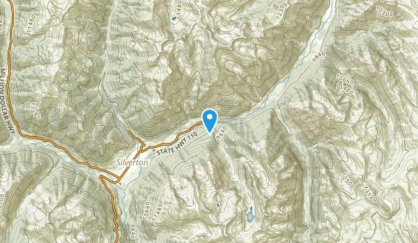 Howardsville, Colorado Map