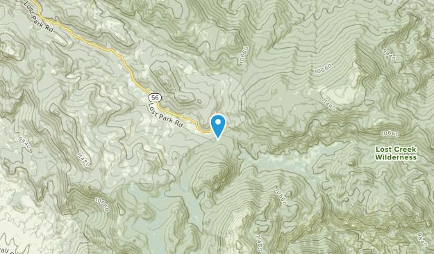 Insmont, Colorado Map