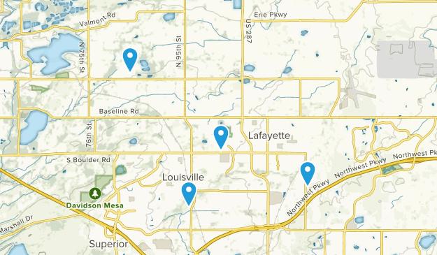 Lafayette, Colorado Map