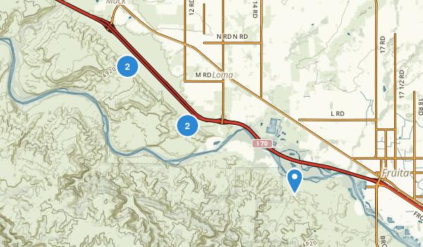 Loma, Colorado Map