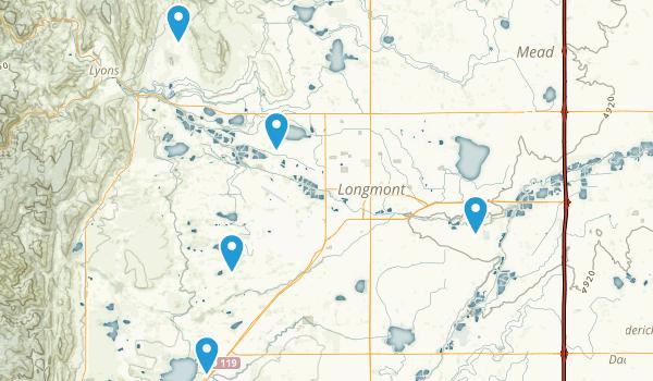 Longmont, Colorado Map