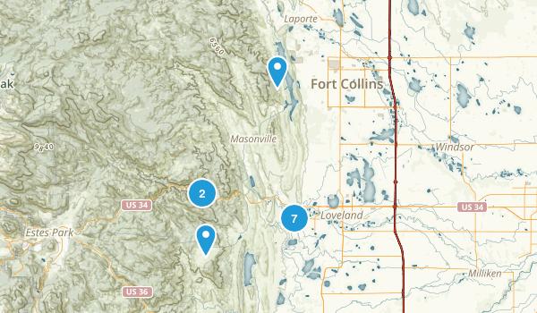 Loveland, Colorado Map