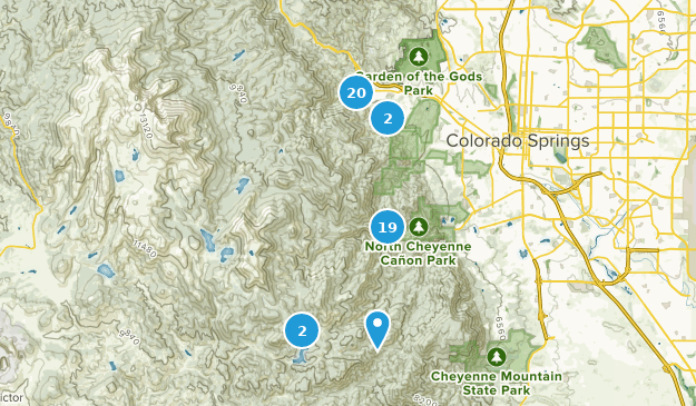Beste Wege in der Nähe von Manitou Springs, Colorado | AllTrails