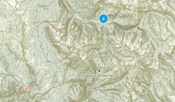 Marble, Colorado Map