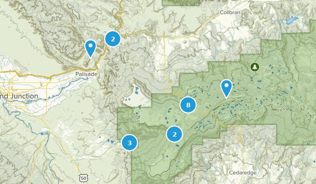 Mesa, Colorado Map