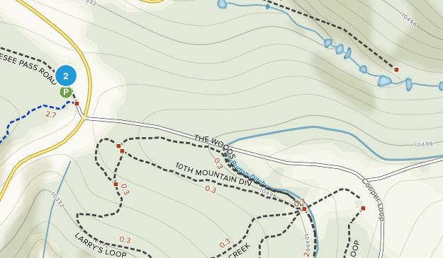 Mitchell, Colorado Map