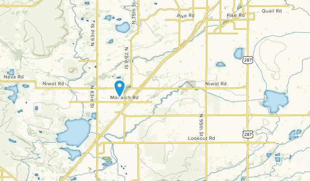 Niwot, Colorado Map