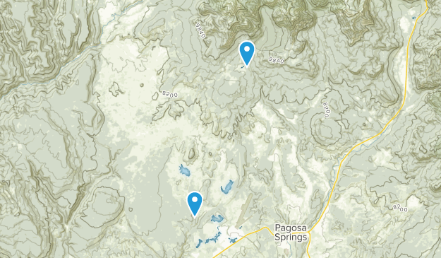 Nutria, Colorado Map