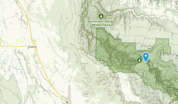 Olathe, Colorado Map