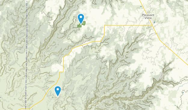 Pleasant View, Colorado Map