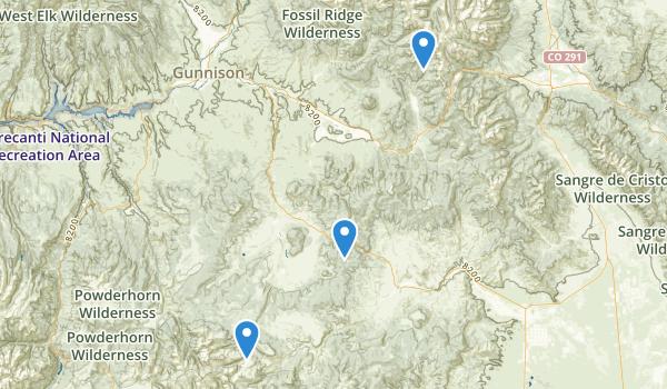 Sargents, Colorado Map