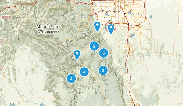 Sedalia, Colorado Map