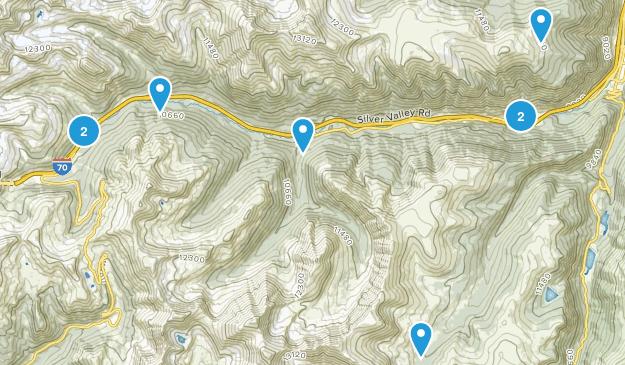 Silver Plume, Colorado Map
