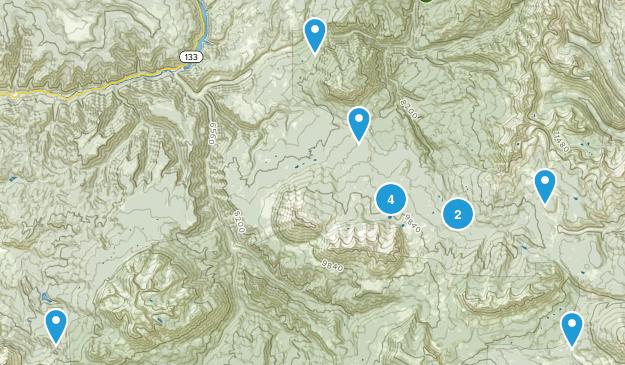 Somerset, Colorado Map