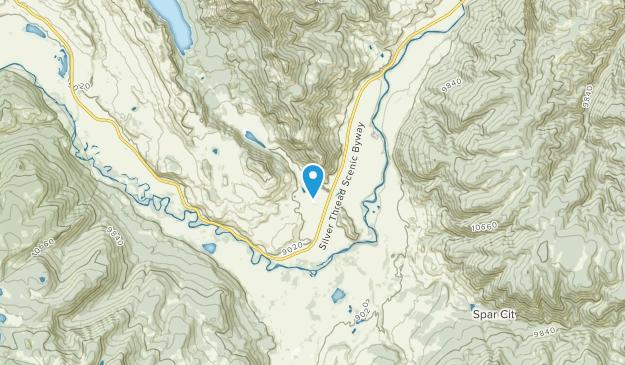 Spar City, Colorado Map