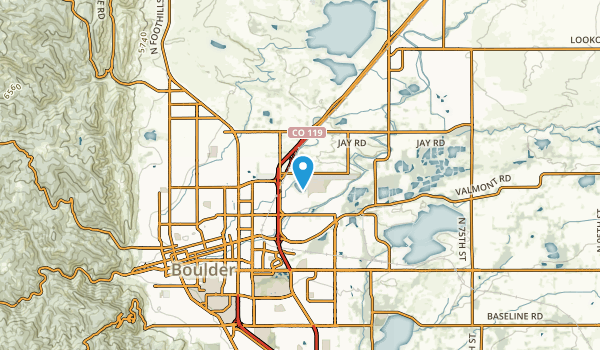 Valmont, Colorado Map