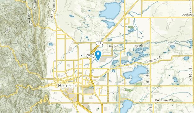 Valmont, Colorado Map