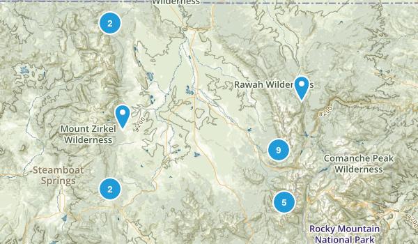 Walden, Colorado Map