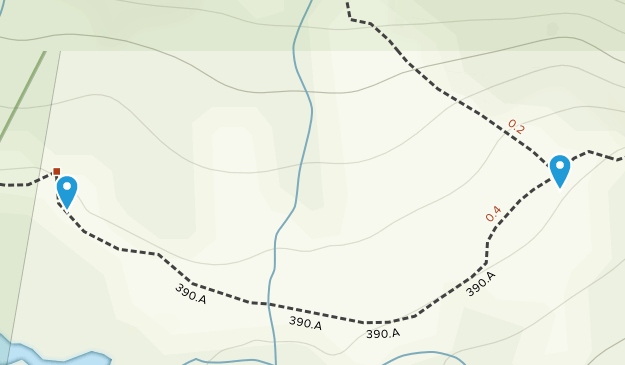 Winfield, Colorado Map