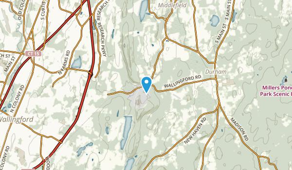 Baileyville, Connecticut Map