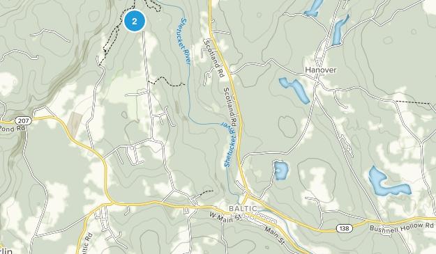 Baltic, Connecticut Map