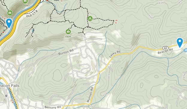 Beacon Falls, Connecticut Map