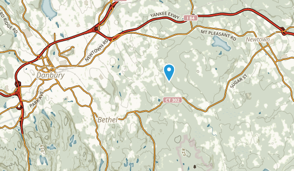 Bethel, Connecticut Map